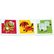 360-21 - Schiebepuzzle Tiere - einzeln
