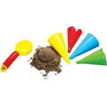 558-41 - Sandform Eiscreme - 5 teiliges Set im Netz