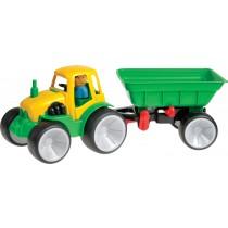 561-08 - Traktor mit Anhänger Box