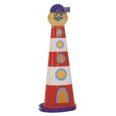 558-21 - Leuchtturm Pyramide - 7teilig