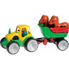 561-07 - Traktor mit Pferden Box